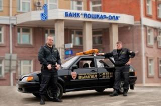 Экипаж ГБР пультовой охраны